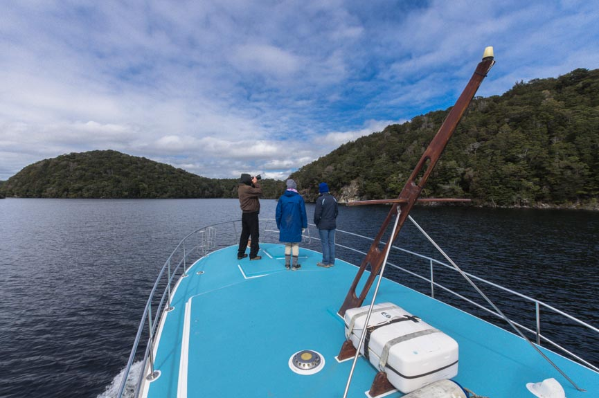 Scenic Cruise on Lake Te Anau, Fiordland, New Zealand