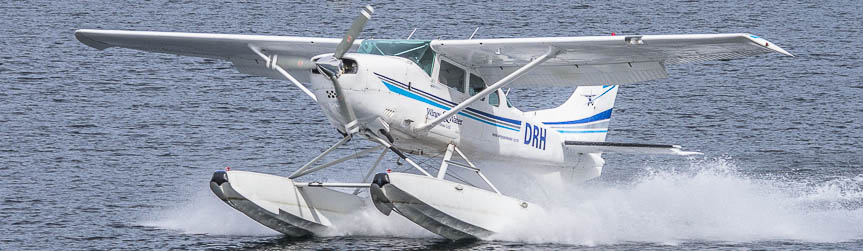 Hydroplane - scenic flights from Te Anau above Fiordland